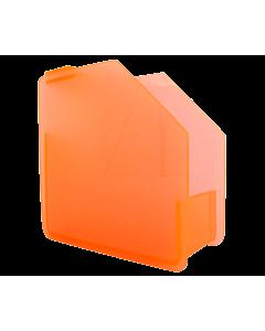 Distributeur de Forme pour ongles Orange Fluo
