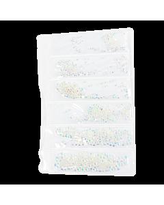 Décorations en Sachet Pierres Claires Hologramme 002