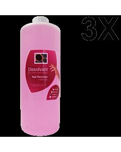 Acetone Free Nail Polish Remover 1 L (3 units)