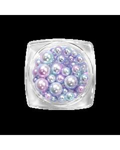 Nail Art Kit 01 - Purple/Pink/Blue Pearls