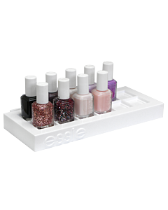 Essie empty polish display for 12 bottles