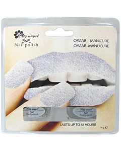 Silver Caviar Manicure Lily Angel