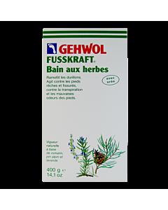 Gehwol Fusskraft Herbal Bath 400g - box