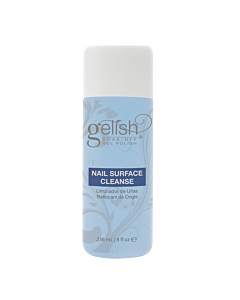 Gelish Nail Surface Cleanse Nettoyant pour Ongle 8oz