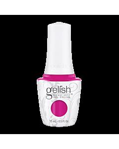 Gelish UV Gel Bottle. Pop-Arazzi Pose - Fuchsia