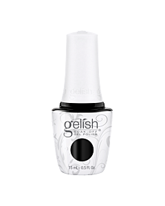 Gelish UV Gel Bottle Black Shadow - Black