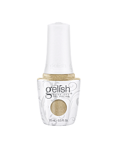 Bottle Gelish Gel Polish Give me Gold 15mL
