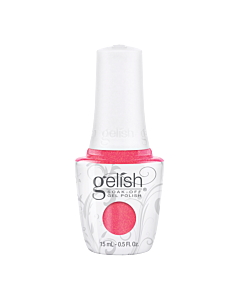 Bottle Gelish Gel Polish Hip Hot Coral 15mL