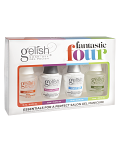 Ensemble Fantastic Four - Gelish Vernis UV 15ml