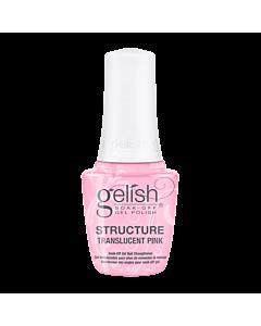 Gelish Structure Translucent Pink Soak Off Gel Nail Strength
