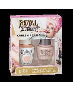 Gelish Gel Polish + Morgan Taylor Curls & Pearls 15 mL