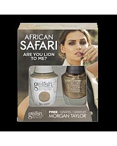 Gelish Gel Polish + Morgan Taylor Are You Lion to Me? 15 mL