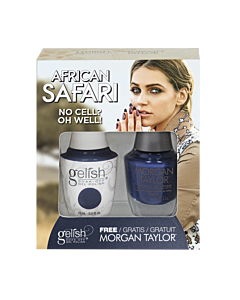 Gelish Vernis UV + Morgan Taylor No Cell? Oh Well! 15 mL