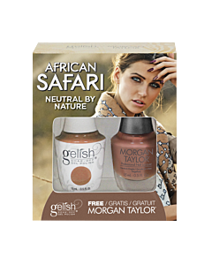 Gelish Vernis UV + Morgan Taylor Neutral by Nature 15 mL