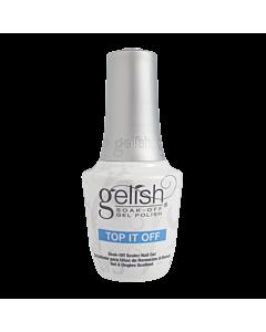 Gelish Vernis UV Top it Off Top Coat Brillant 15mL