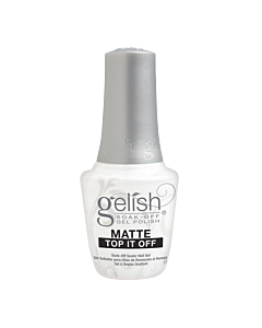 Gelish Gel Polish Matte Top it Off Sealer Gel