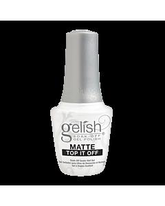 Gelish Gel Polish Matte Top it Off Sealer Gel
