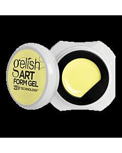 Gelish Art Form Gel - Pastel Jaune 5g