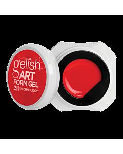 Gelish Art Form Gel - Néon Rouge 5g
