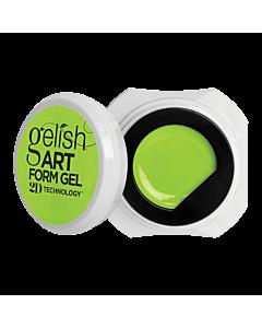Gelish Art Form Gel - Néon Jaune 5g
