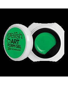 Gelish Art Form Gel - Neon Green 5g