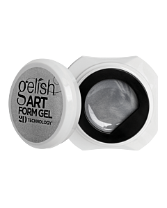 Gelish Art Form Gel - Effet Argent Métallique 5g