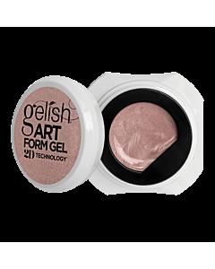 Gelish Art Form Gel - Effet Rose Gold Métallique 5g