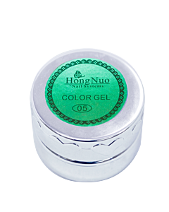 Gel Élastique UV/LED #05 Turquoise 8mL (Hong Nuo)