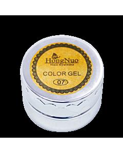 Gel Élastique UV/LED #07 Or 8mL (Hong Nuo)