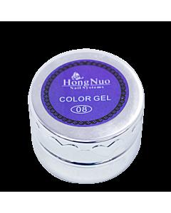 Line Drawing UV/LED Gel #08 Purple 8mL (Hong Nuo)