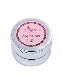 Gel Élastique UV/LED #10 Orange 8mL (Hong Nuo)