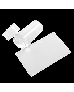 Grattoir et tampon pour stamping XL transparent (26mm de lar