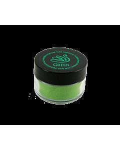 poudre acrylique vert