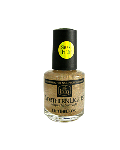 Gold Northern Light INM Top Coat 0.5 oz