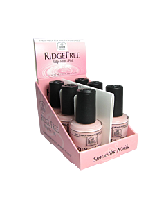 INM Ridge Free Vernis Comble Stries Rose