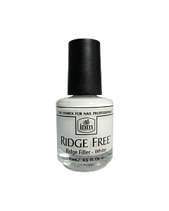 INM Ridge Free Vernis Comble Stries Blanc