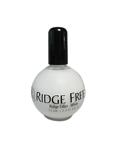 INM Ridge Free Vernis Comble Stries Blanc 2.5 oz
