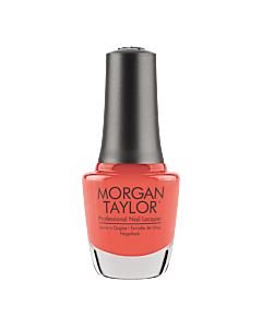 Morgan Taylor Nail Polish Candy Coated Coral 15mL - bottle