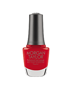 Morgan Taylor Nail Polish Fire Cracker 15mL - bottle