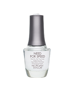 Morgan Taylor Nail Polish Need for Speed Top 15mL