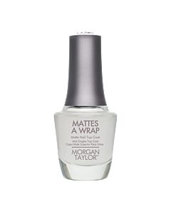 Morgan Taylor Vernis à Ongles Mattes a Wrap Top Mat 15mL