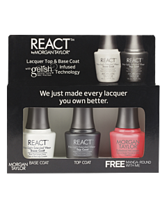 Morgan Taylor Vernis à Ongles REACT + Manga-Round with me