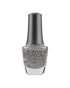 Morgan Taylor Nail Polish Silver in my Stocking