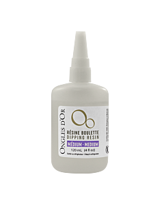 Ongles d'Or Dipping Resin - Medium 120 mL (1pc)