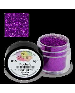 Paillette Art Glitter 15 Fuchsia 1/4 oz