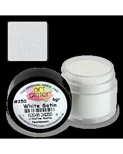 Paillette Art Glitter 250 White Satin 1/4 oz
