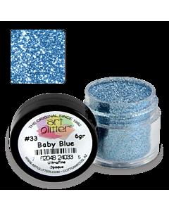 Paillette Art Glitter 33 Baby Blue 1/4 oz