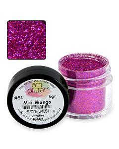 Art Glitter 51 Mai Mango 1/4 oz