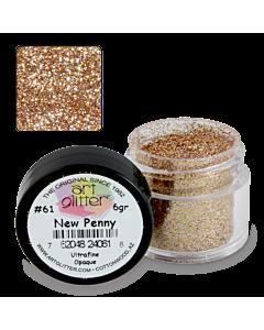 Paillette Art Glitter  61 New Penny 1/4 oz