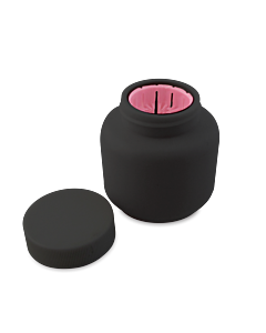Nail Brush Jar - 1 Finger (Noir)
